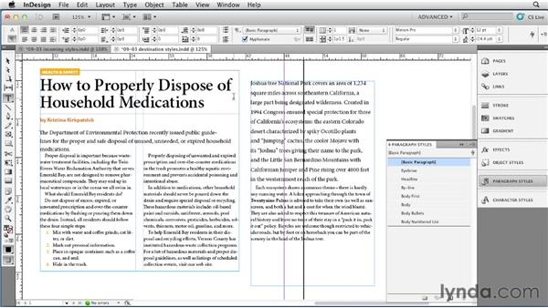 How InDesign handles style conflicts: InDesign Styles in Depth