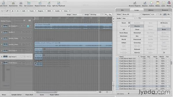 Welcome: Remixing a Song in Logic Pro