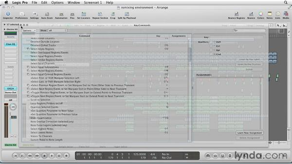 Using Logic Pro as a remixing environment: Remixing a Song in Logic Pro