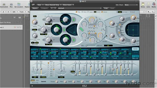 Working with software synths: Remixing a Song in Logic Pro