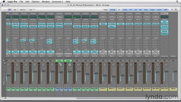 Mixing philosophies: Remixing a Song in Logic Pro