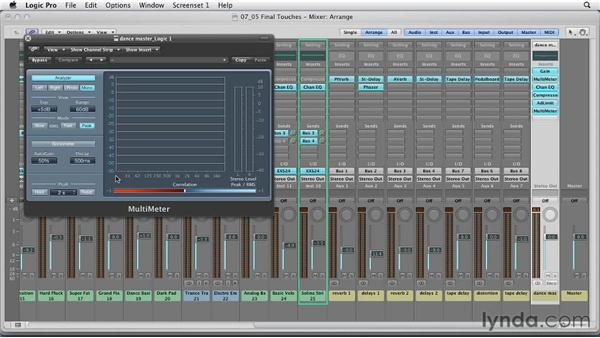 Final touches, referencing, and mastering your final mix: Remixing a Song in Logic Pro