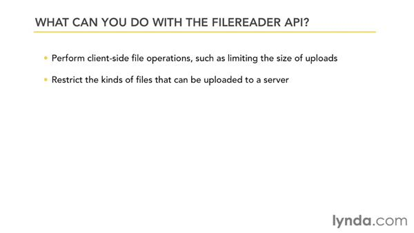 What is the File API?: HTML5: File API in Depth
