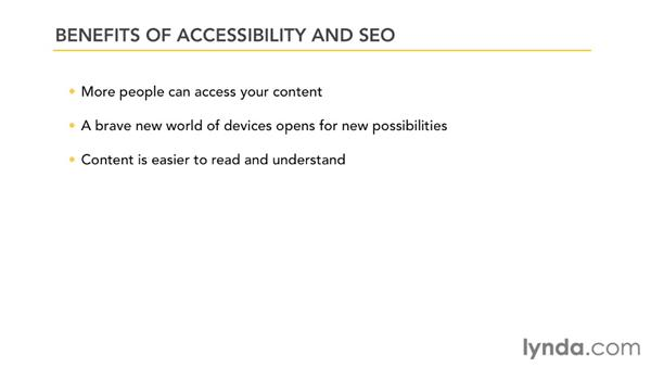 Understanding the benefits of accessibility and SEO: Improving SEO Using Accessibility Techniques
