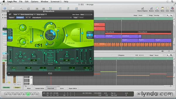 Composing with the ES1: Virtual Instruments in Logic Pro