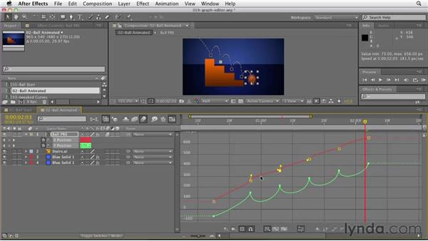 007 Using the Graph Editor to control animation: Design in Motion