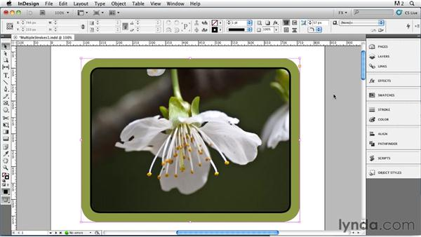 019 Simulating Multiple Strokes, Part 1: InDesign FX
