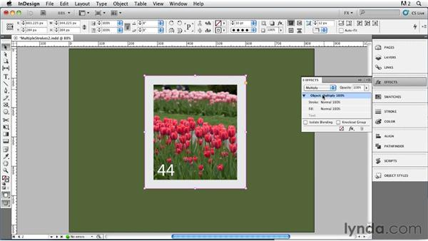 020 Simulating Multiple Strokes, Part 2: InDesign FX