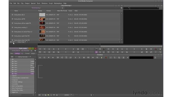 Setting up and organizing a project: Avid Media Composer 6 Essential Training