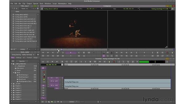 Splicing shots: Avid Media Composer 6 Essential Training