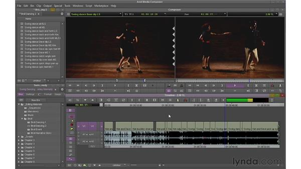Manipulating the Timeline directly: Avid Media Composer 6 Essential Training