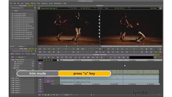 Understanding trimming: Avid Media Composer 6 Essential Training