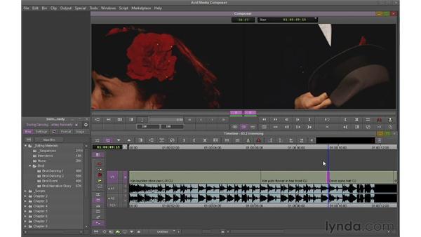 Performing single-roller trims: Avid Media Composer 6 Essential Training