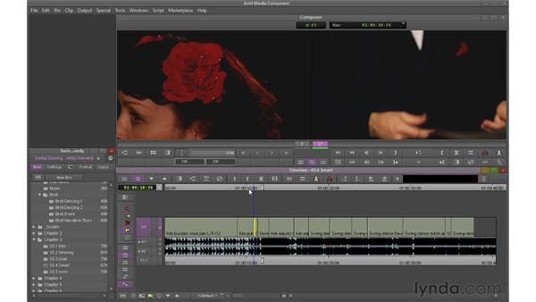 Using Ripple Trim and Overwrite Trim: Avid Media Composer 6 Essential Training