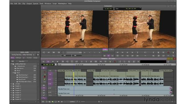 Understanding sync: Avid Media Composer 6 Essential Training