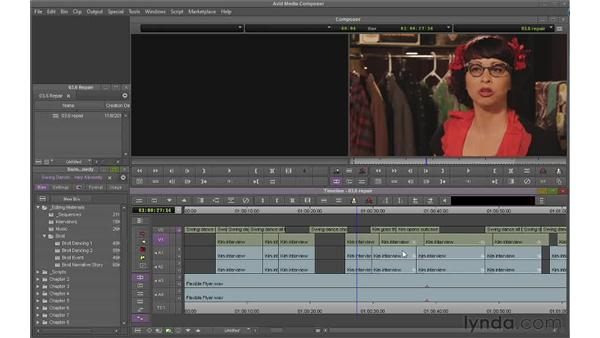 Solving sync problems: Avid Media Composer 6 Essential Training