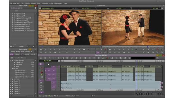 Navigating with JKL: Avid Media Composer 6 Essential Training