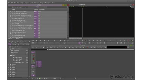 Sorting and sifting clips: Avid Media Composer 6 Essential Training