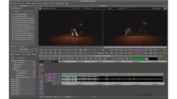 Performing Replace edits: Avid Media Composer 6 Essential Training
