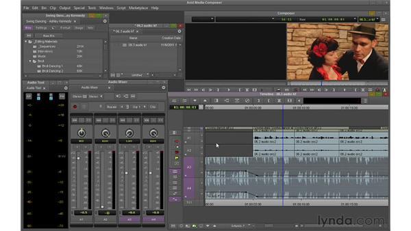 Keyframing audio: Avid Media Composer 6 Essential Training