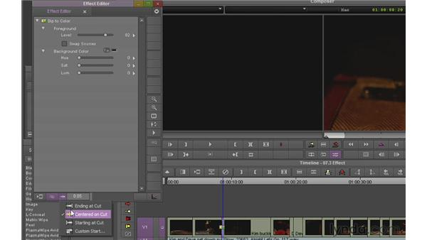 Using the Effects palette and the Effect Editor: Avid Media Composer 6 Essential Training