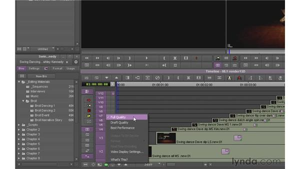 Understanding system performance: Avid Media Composer 6 Essential Training