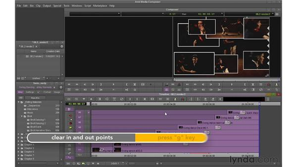 Rendering intelligently: Avid Media Composer 6 Essential Training