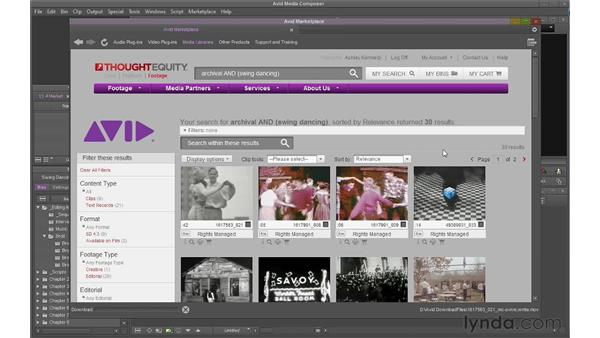 Using the Avid Marketplace: Avid Media Composer 6 Essential Training