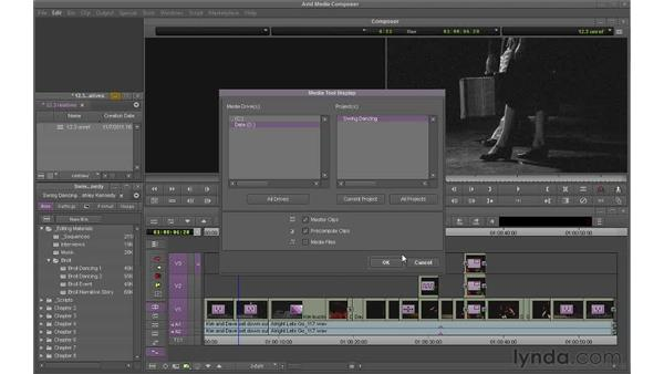 Deleting unreferenced clips: Avid Media Composer 6 Essential Training