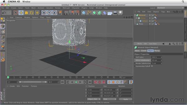 008 Creating dynamic liquid: Design in Motion