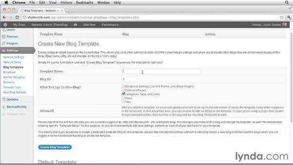 Creating and using global tags and categories: Creating and Managing a Blog Network with WordPress
