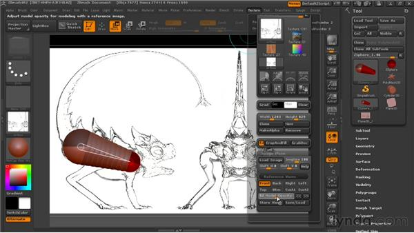 Starting with ZSpheres: Digital Creature Creation in ZBrush, Photoshop, and Maya