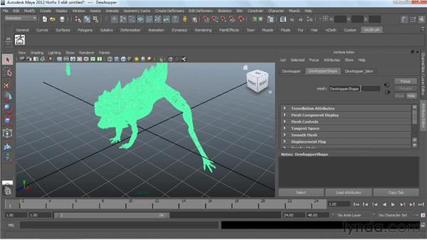 Using GoZ between ZBrush and Maya: Digital Creature Creation in ZBrush, Photoshop, and Maya