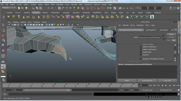 Modeling the claws: Digital Creature Creation in ZBrush, Photoshop, and Maya
