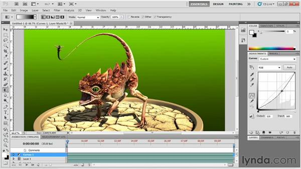 Polishing the renders in Photoshop: Digital Creature Creation in ZBrush, Photoshop, and Maya