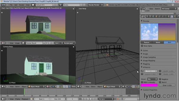 Adding background images: Blender Essential Training