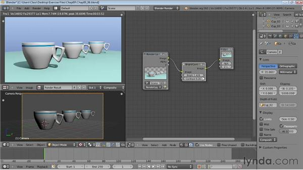 Creating depth of field: Blender Essential Training