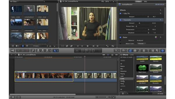 Understanding color looks and effects: Color Correction in Final Cut Pro X