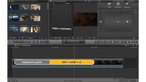 Fixing underexposed footage: Color Correction in Final Cut Pro X