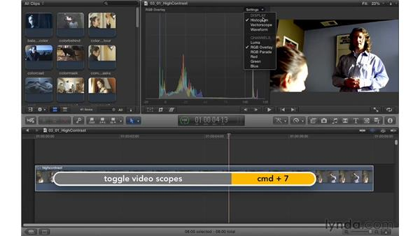 Creating a high-contrast look: Color Correction in Final Cut Pro X