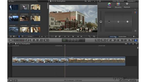 Treating skies: Color Correction in Final Cut Pro X