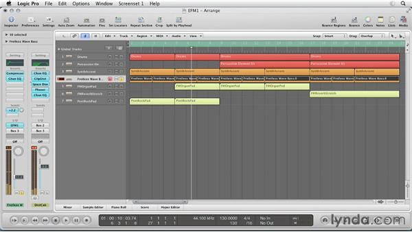 Composing with the EFM1: Virtual Instruments in Logic Pro