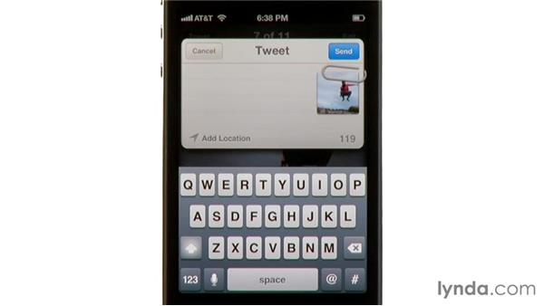Using Twitter: iPhone and iPod touch iOS 5 Essential Training
