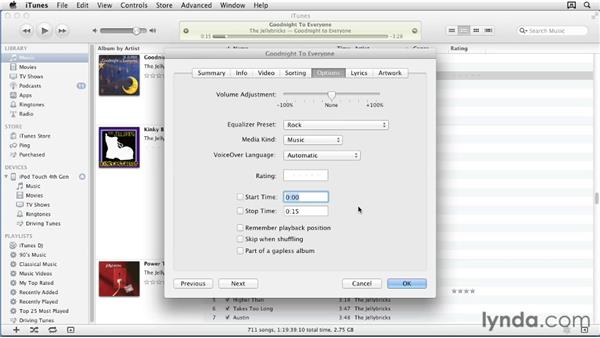 Creating custom ringtones with iTunes: iPhone and iPod touch iOS 5 Essential Training