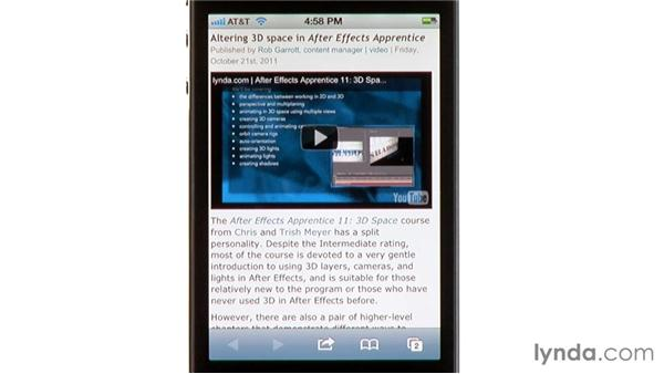 Creating Web Clips: iPhone and iPod touch iOS 5 Essential Training