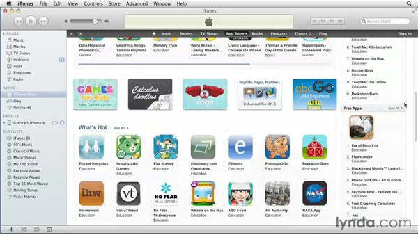 Understanding the App Store: iPhone and iPod touch iOS 5 Essential Training