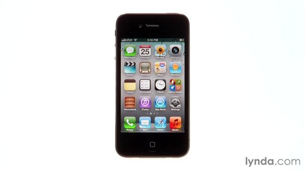 Finding app settings: iPhone and iPod touch iOS 5 Essential Training