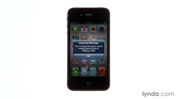 Find My iPhone: iPhone and iPod touch iOS 5 Essential Training