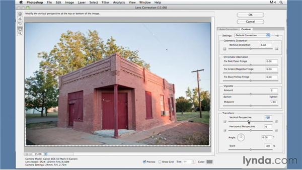 Altering the perspective in Photoshop: Foundations of Photography: Composition