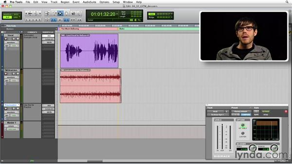 Get in the Mix: De-essing a vocal track: Foundations of Audio: Compression and Dynamic Processing